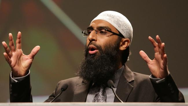 Waseem Razvi speaks at the Australian Islamic Peace Conference in Melbourne.
