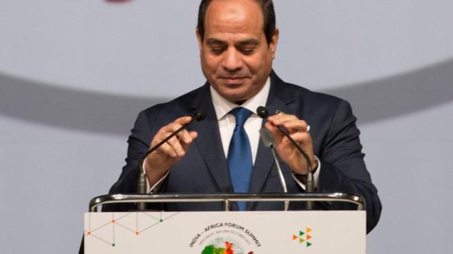 Egyptian President Abdel Fattah Sisi